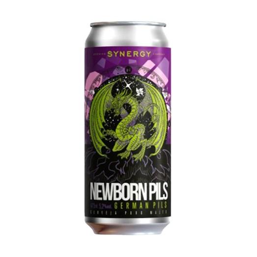 Cerveja Synergy Newborn Pils, 473ml