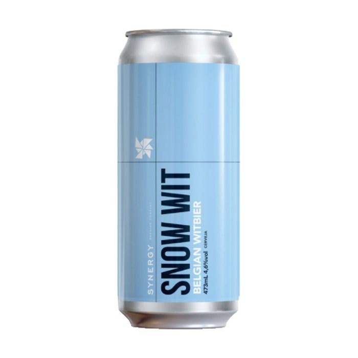 Cerveja Synergy Snow Wit, 473ml