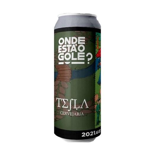 Cerveja Tesla Onde Está o Gole - 202LUZ, 473ml