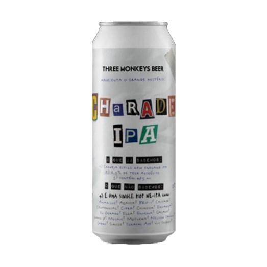 Cerveja Three Monkeys Charade IPA, 473ml