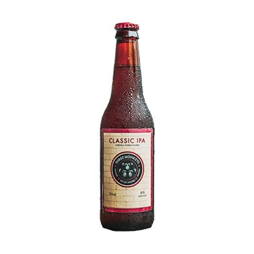 Cerveja Three Monkeys Classic IPA, 355ml