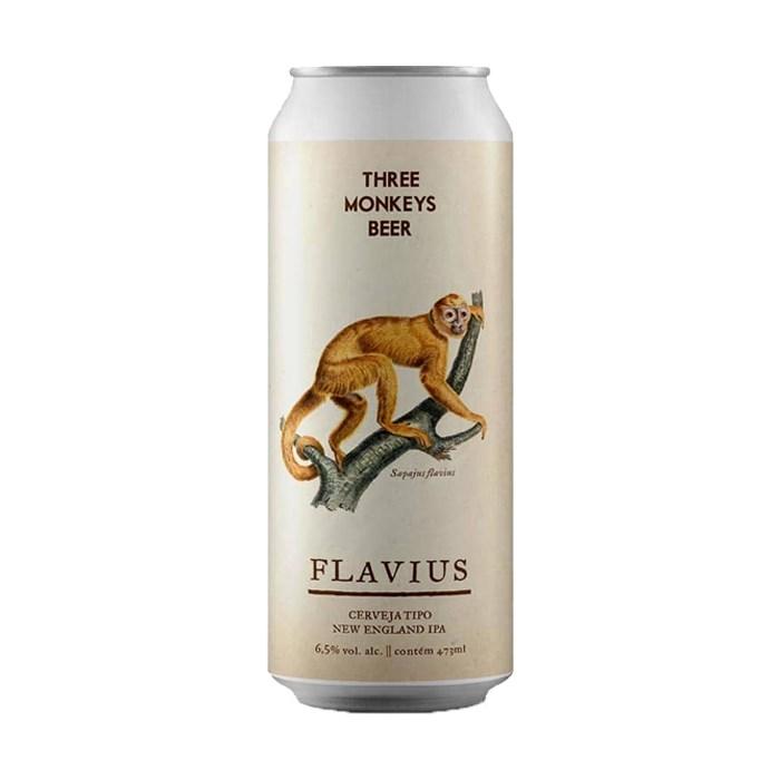 Cerveja Three Monkeys Flavius, 473ml