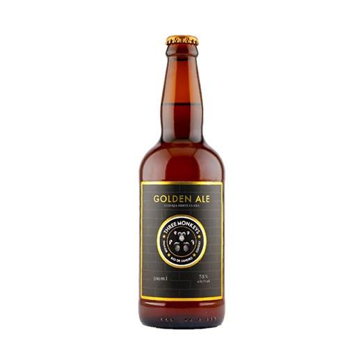 Cerveja Three Monkeys Golden Ale, 500ml