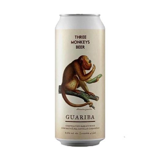 Cerveja Three Monkeys Guariba, 473ml