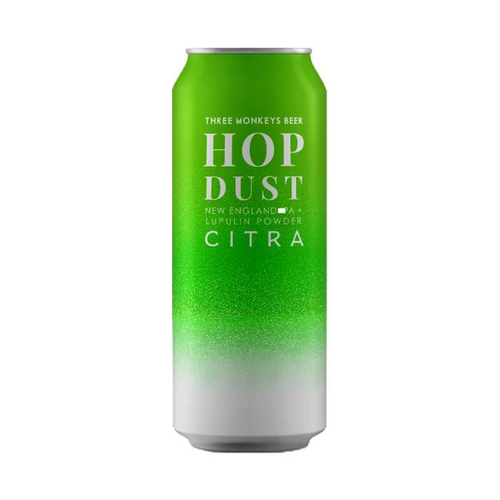 Cerveja Three Monkeys Hop Dust Citra, 473ml