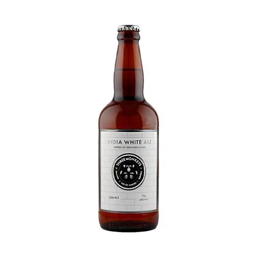Cerveja Three Monkeys India White Ale, 500ml