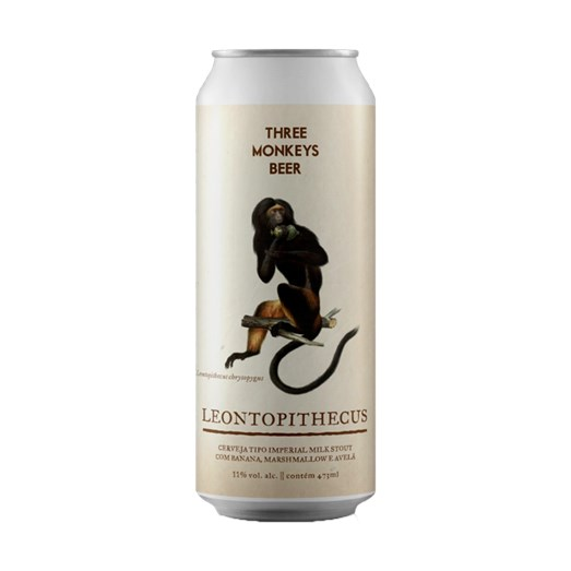Cerveja Three Monkeys Leontopithecus, 473ml