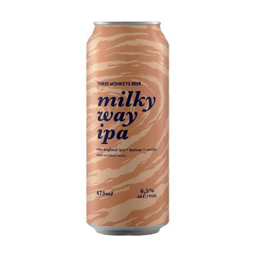 Cerveja Three Monkeys Milky Way IPA, 473ml