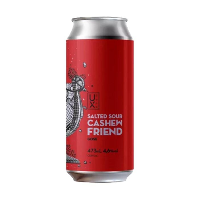 Cerveja UX Brew Salted Sour Cashew Friend, 473ml