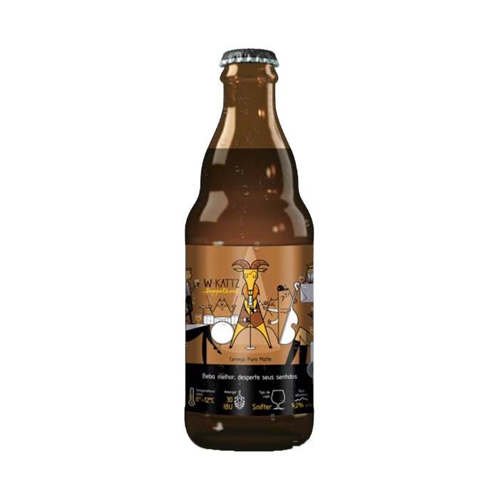 Cerveja W*Kattz Doppelbock, 300ml