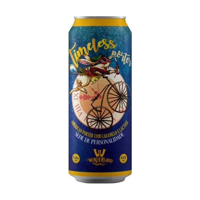 Cerveja Wonderland Timeless Porter, 473ml