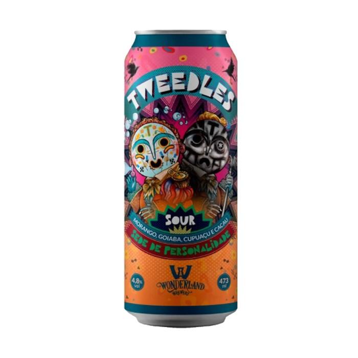 Cerveja Wonderland Tweedles, 473ml
