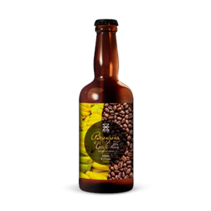 Cerveja ZalaZ Banana e Café, 500ml