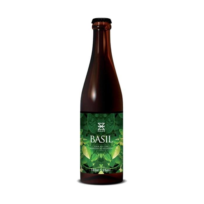 Cerveja ZalaZ Basil, 500ml