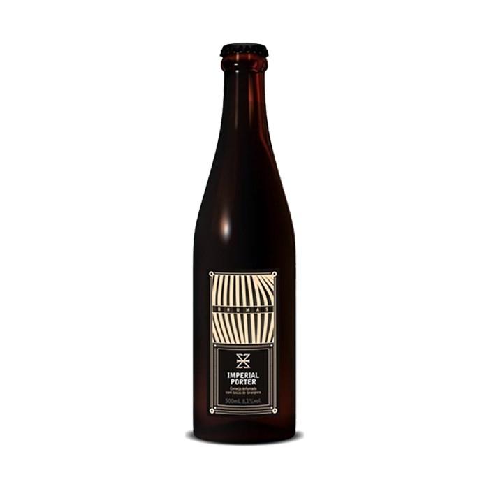 Cerveja ZalaZ Brumas Imperial Porter, 500ml