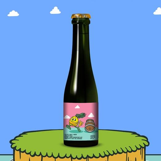 Cerveja ZalaZ e Bro's Beer Abacacitrus, 375ml