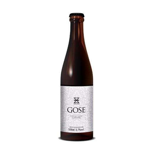 Cerveja Zalaz Gose Sal, Limão e Coentro 2021, 500ml