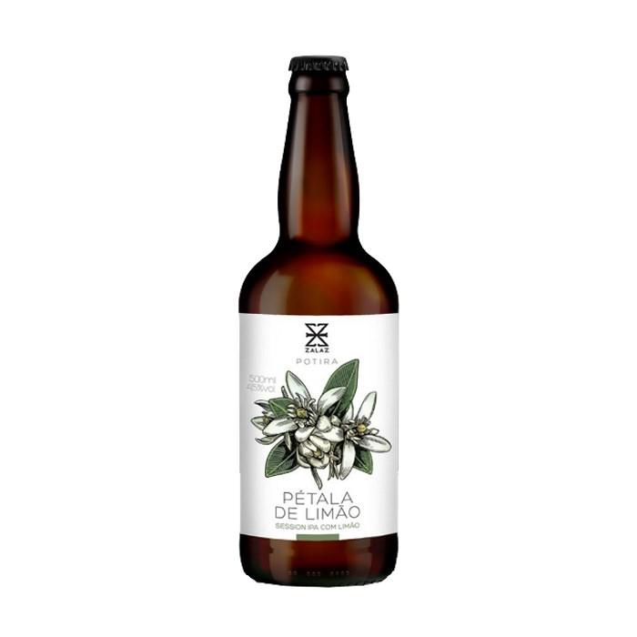 Cerveja ZalaZ Pétala de Limão 2021, 500ml