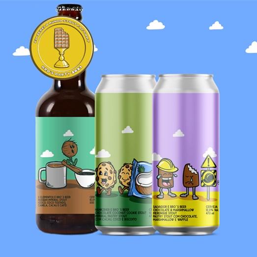 Stout Factory Pack (3 cervejas)